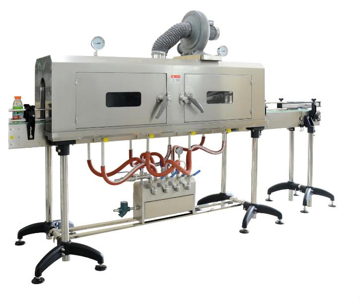 蒸汽收缩炉 电加热收缩炉 不锈钢缩标机胶带套标机